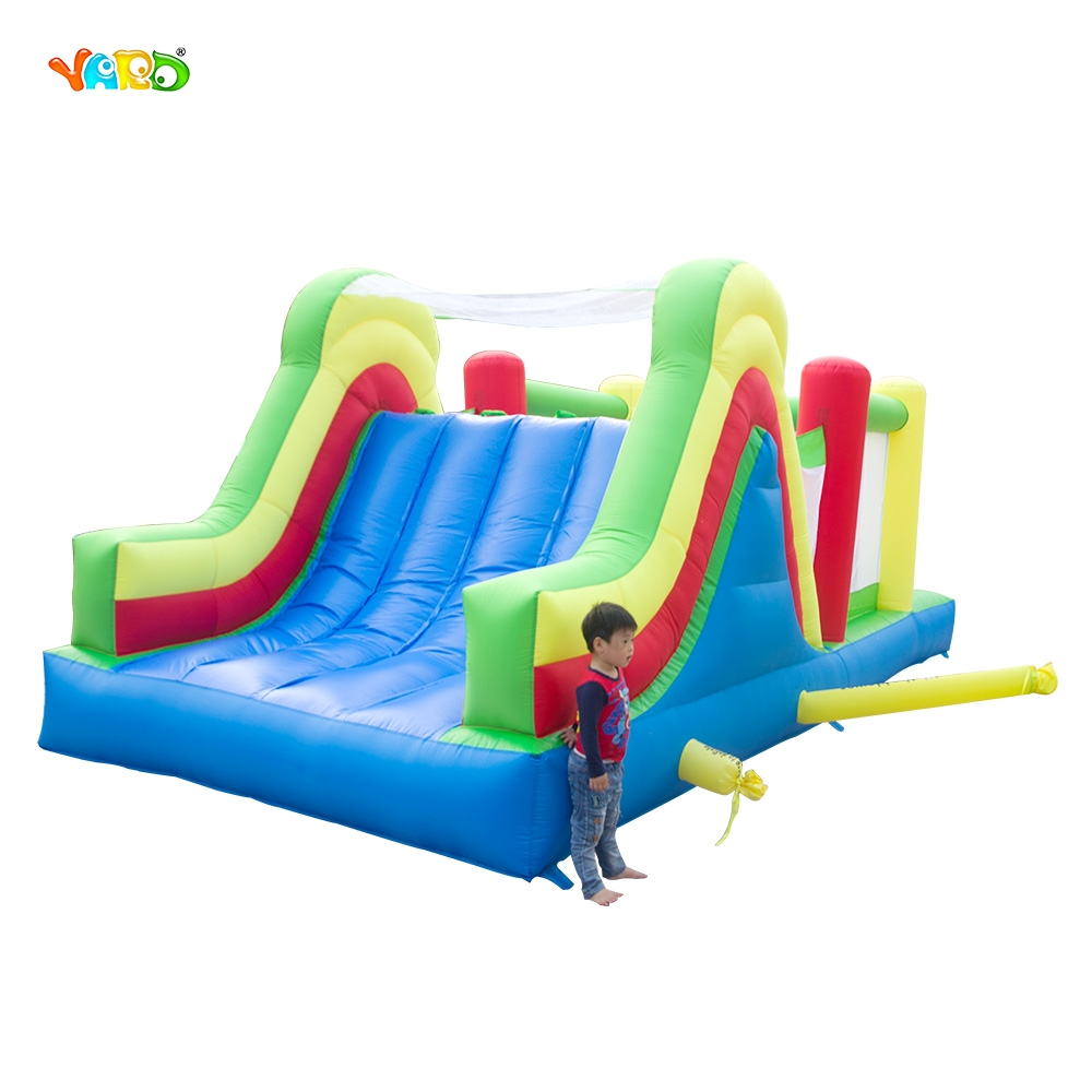 YARD Free Shipping 6 in 1 All-round Giant Inflatable Bouncer Bouncy Castle Jumping Obstacle Course Combo yard free shipping bouncy dream castle inflatable jumper bouncer 6 in 1 all round obstacle combo for home use