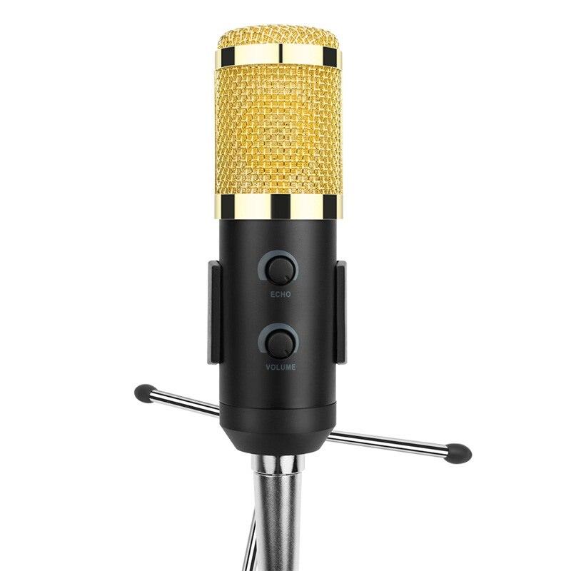 Ituf Professional Condenser USB Microphone BM900 for computer BM-800 Upgraded Audio Studio Vocal Recording KTV Adjustable volume-005