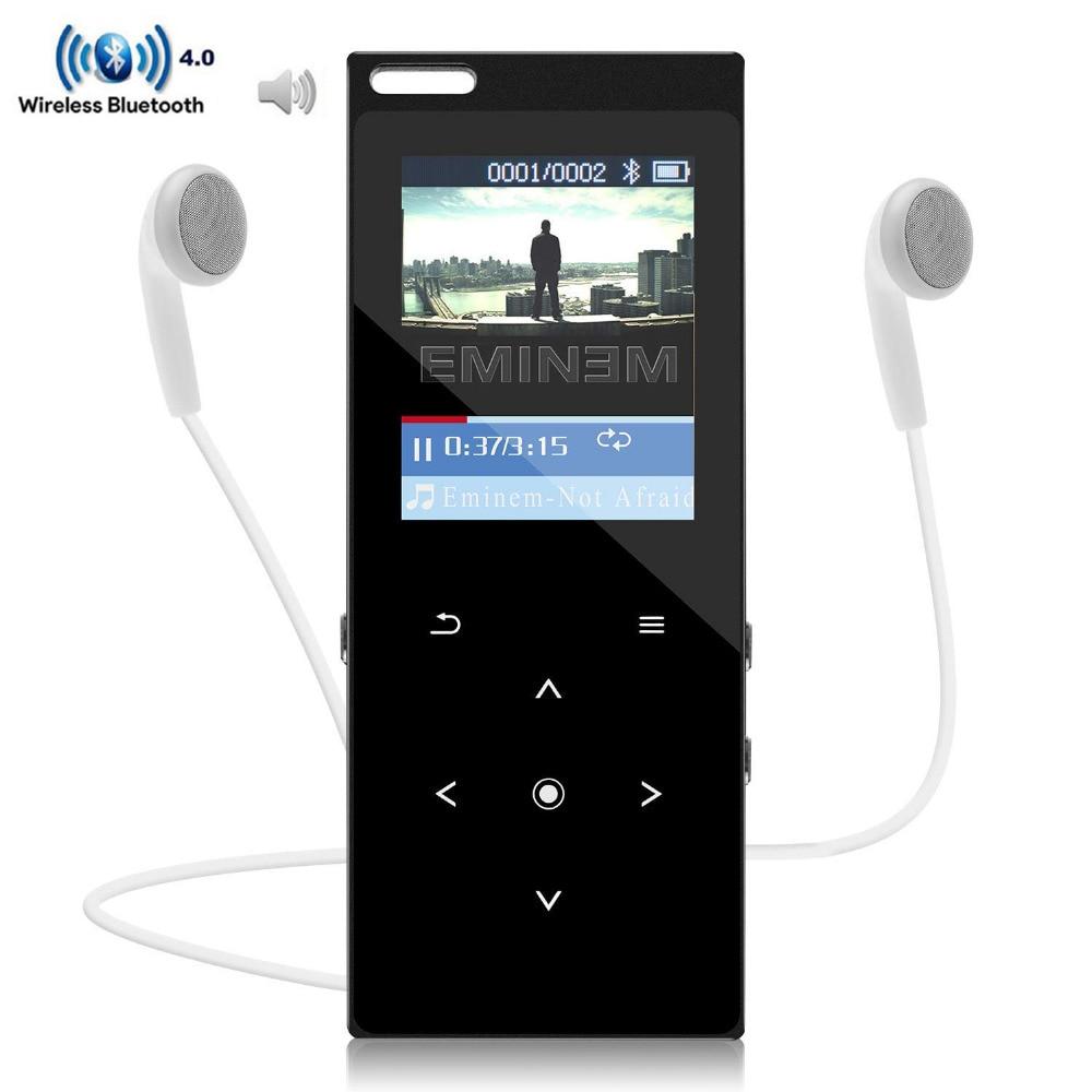 E-buch Reich Und PräChtig Recorder Neue Mode 2018 Bluetooth Mp3 Player Metall Körper 1.8in Bildschirm 8 Gb Lautsprecher Hifi Verlustfreie Sound Musik-player Mit Fm Radio