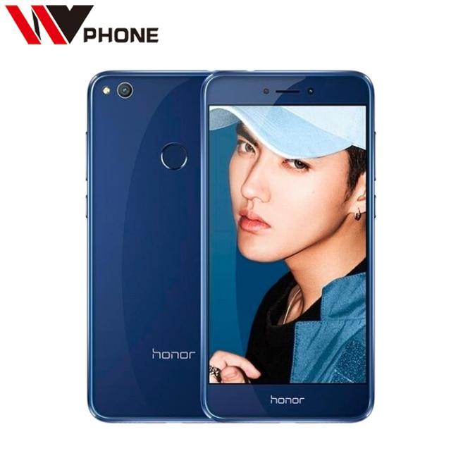"Original Huawei Honor 8 Lite 4G LTE Mobile Phone 3G RAM 32G ROM Kirin 655 Octa Core 5.2"" FHD 1920*1080P Fingerprint ID"