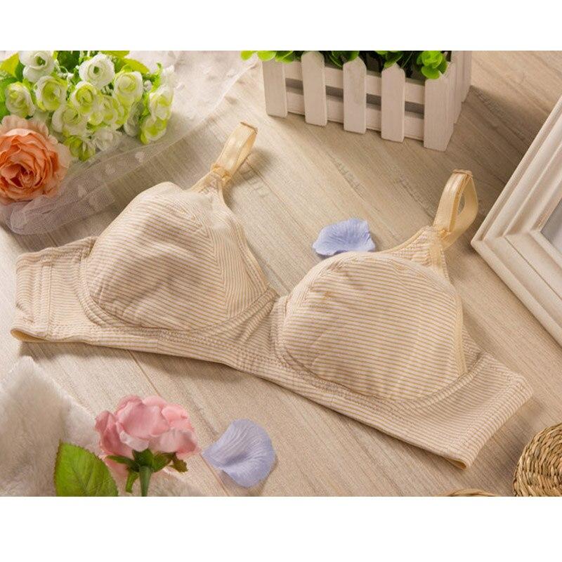Хлопковый бюстгальтер для кормящих мам; Одежда для беременных женщин; нижнее белье;