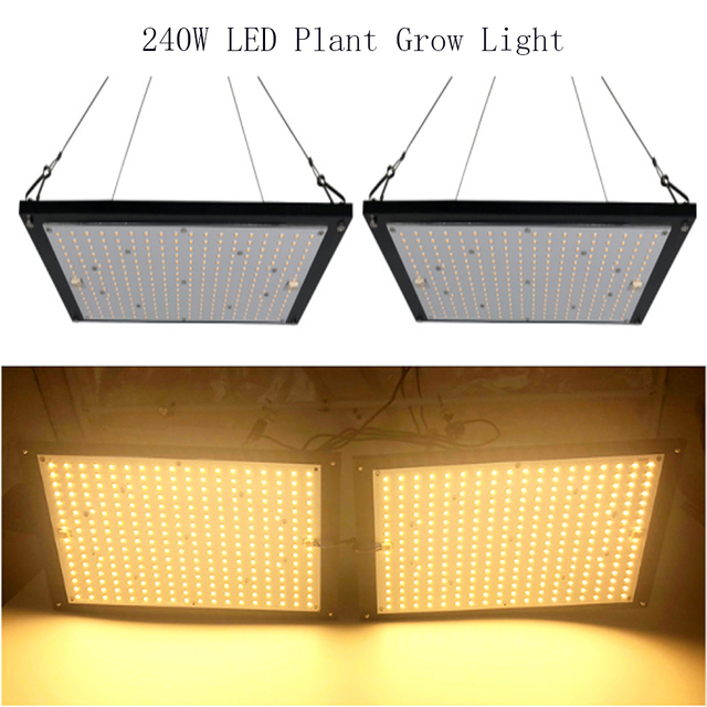 Brightness 240W Led Grow Light Quantum Board Full Spectrum Samsung LM301B  SK 3000K Red 660nm Meanwell Driver DIY