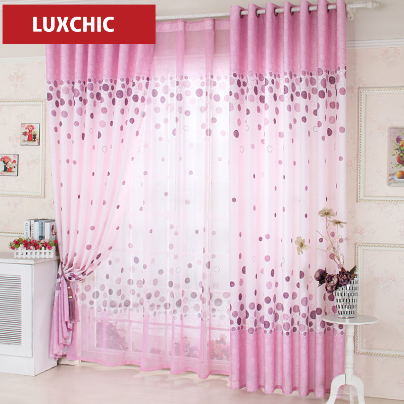 pink ruffled curtains promotionshop for promotional pink ruffled, Bedroom decor