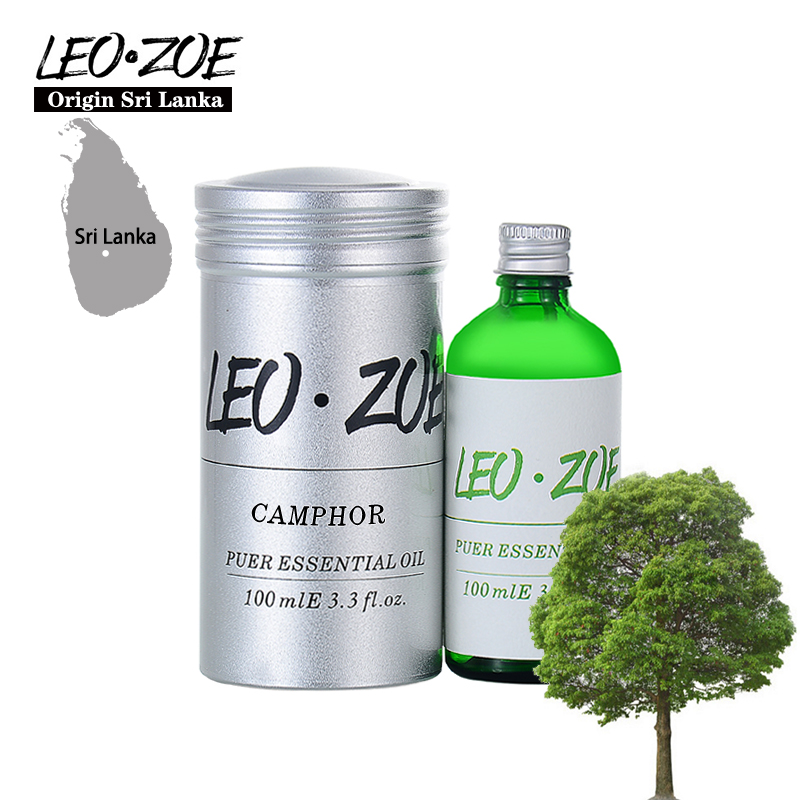 LEOZOE Camphor Essential Oil Certificate Of Origin Sri Lanka High Quality Aromatherapy Camphor Oil 100ML Huile Essentielle leozoe pure camellia oil certificate of origin japan camellia essential oil 100ml essential oil huile essentielle