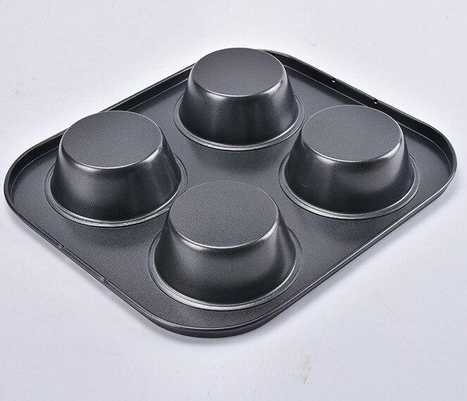 1 ADET Yapışmaz Karbon Çelik 4 Bardak Bahar Formu Pasta / Kek / - Mutfak, Yemek ve Bar - Fotoğraf 5