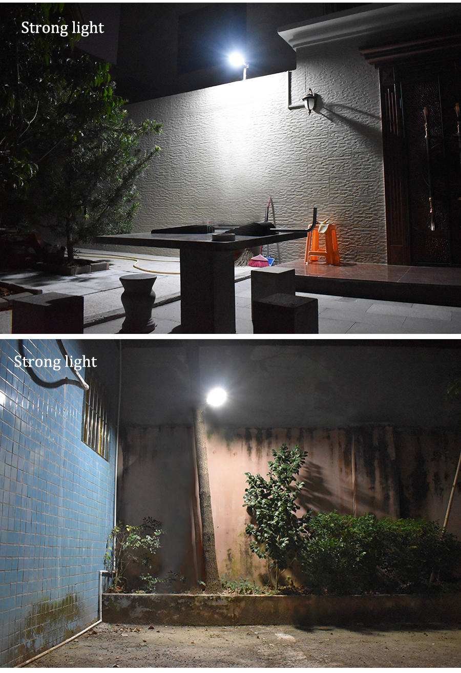 Waterproof and Motion Sensor Outdoor Solar Light with 48 LED and Rotatable Pole for Stairs and Yard 16