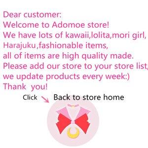 Image 5 - נשים Harajuku קומיקס ארנב שחור מלא שרוול שמלת יפני לוליטה גותי הדפסת ארנב Kawaii Vestidos חמוד ילדה Junior שמלות