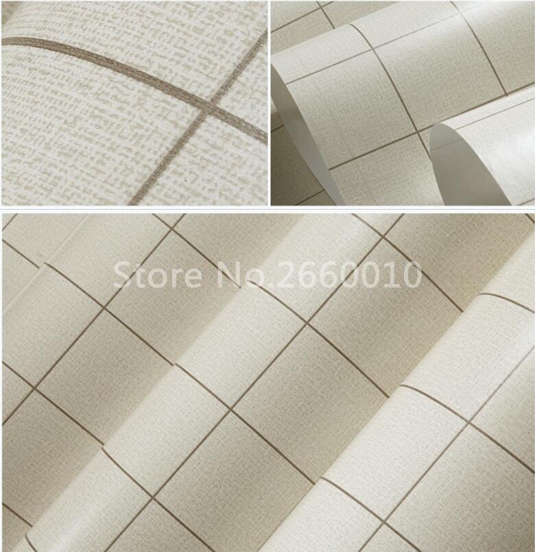 Moderne fliesen textur  Moderne Faux fliesen Textur Design Tapeten Rolle/3D Quadratischen ...