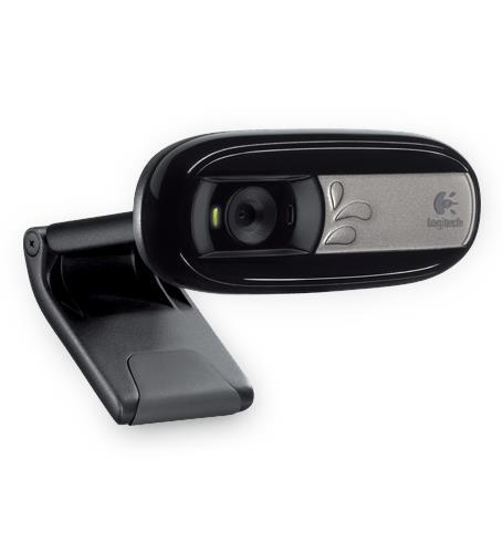 Logitech C170 Webcam-0.3 Mégapixels-USB 2.0 960-000880