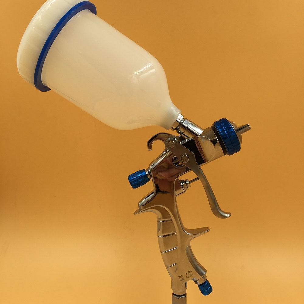 ФОТО SAT1215 hvlp spray painting high pressure automotive paint spray tool air nozzle gun