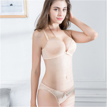 Fashion Lace Bras Set Women Plus Size Push Up Sexy Underwear Bra and Panty 32 34 36 38 40 ABC Cup For Female