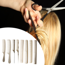 Professional Hair Salon Haircut Combs Plastic Mixed Type Dense Sparse Anti-static Hair Styling Section Hair Cutting Combs