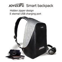 JOYELIFE Fasion Backpack With USB Charge Antitheft Notebook Backpack for  15.6 Waterproof Laptop Backpack Computer Bag Men Women