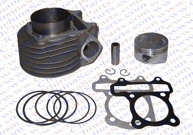 52.4mm Cylinder Piston Ring Gasket kit 125CC Kazuma Jonway ATV Quad Scooter Buggy