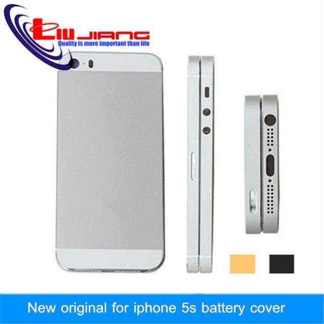 Новый Оригинальный качество Ближний Металлический Каркас задняя крышка для iphone 5s корпус крышка батарейного отсека с sim-карты лоток + кнопки