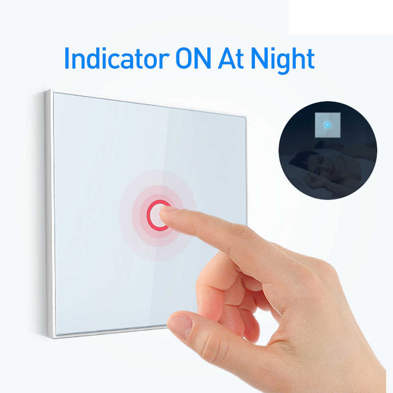 NEO Coolcam NAS-SC01ZE Smart Home Z-Wave Plus 1CH EU Wireless Smart Remote Control Light Switch Compatible With Z wave Switch