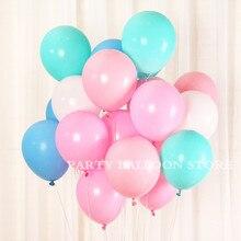 Globo grueso helio Inflable globos de látex decoración de boda Vintage Feliz cumpleaños globo decoración de fiesta Baloon juguete 10 piezas