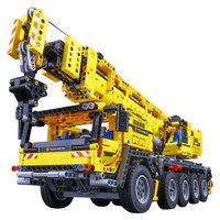 Technic RC Crane Mk II Car Motor Power Mobile Model Legoinglys Building Kits Blocks Bricks 42009 Christmas Toys