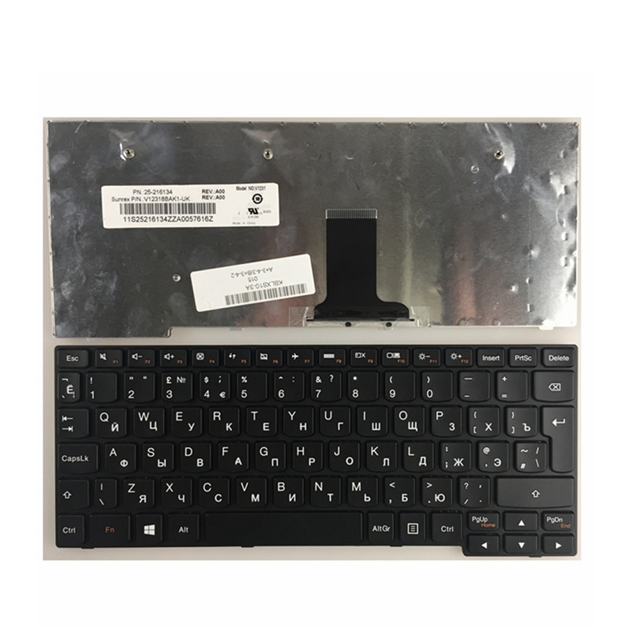 Russian FOR LENOVO for IdeaPad S110 T1A1-RU S100 S10-3 M13 MA3 S10-3S MP-09J63SU-686 RU laptop keyboard BLACK ru keypad for samsung np300e5a np305e5a np300v5a np305v5a np300e5c russian keyboard black free shipping