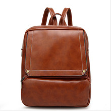 2017 Дизайн Кожа PU Рюкзак Женщины Рюкзаки Ретро маленькая леди школьный коричневый летние брендовые винтажные рюкзак Mochilas Mujer