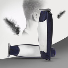 Electric Hair Clipper Set With Guide Combs USB Adapter Rechargeable Haircut Trimmer Men Grooming Kit HS11