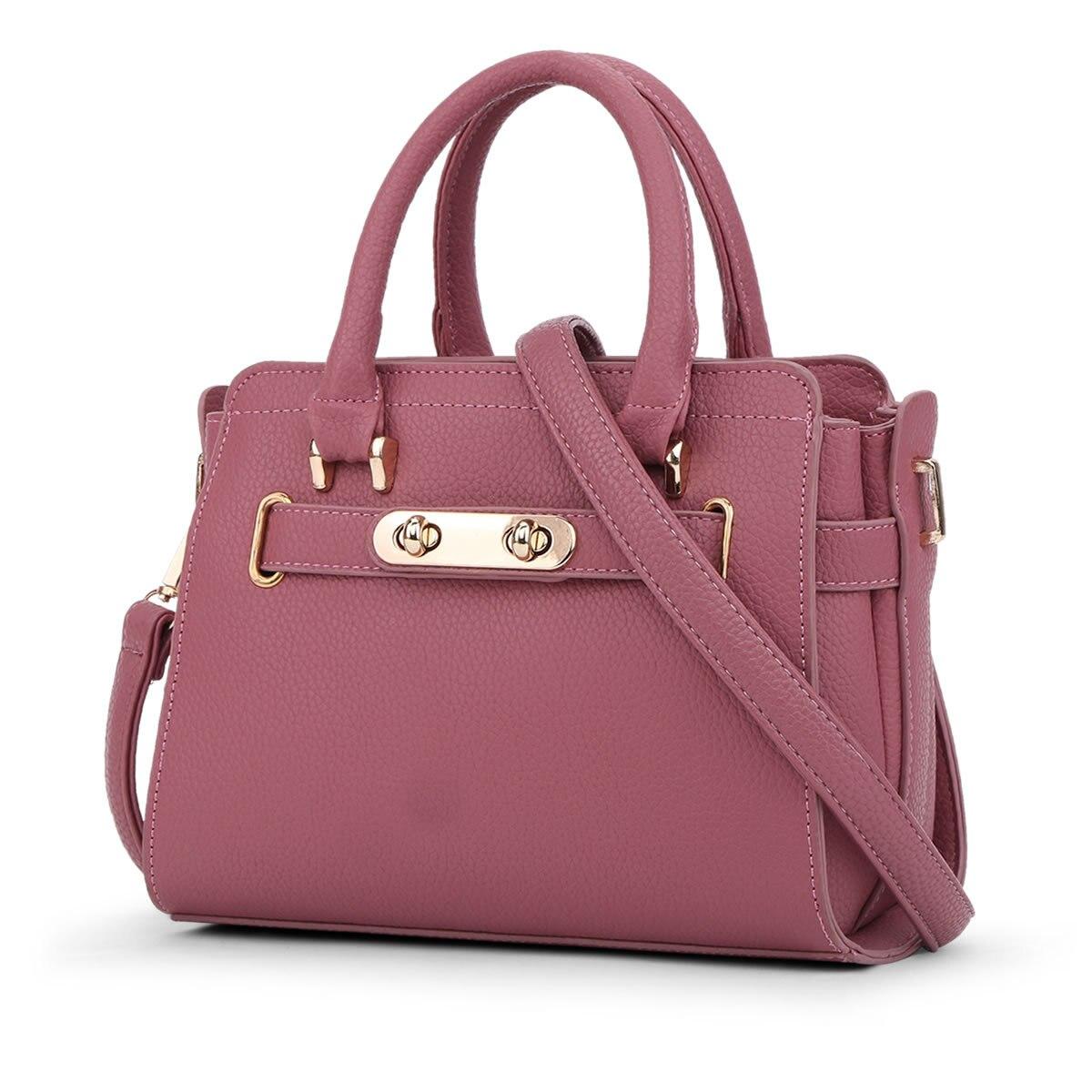 ФОТО New 2017 Women Leather Shoulder Bag Shell Bags Casual Handbags Pink Messenger Bag SMYYG-A0114