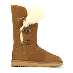 Image 4 - GOGC 2018 Women Winter Boots Snow Boots Warm Womens Winter Boots with Wool Fur Comfortable Genuine Leather Womens Shoes 9722