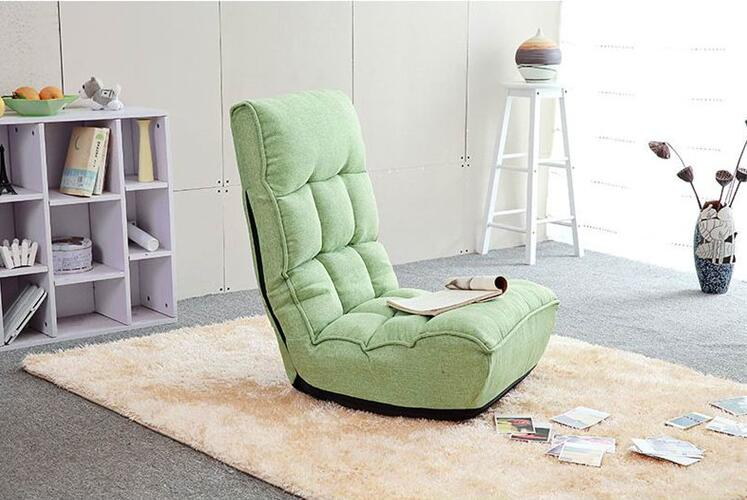 Home Adjustable Folding Lazy Sofa Relax Floor Chair & Gaming Chair Living Room Furniture Floor Couch Chair For Reading or Rest relax sofa chair living room furniture floor adjustable sofa chair reclining chaise lounge modern fashion leisure recliner chair