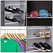 Шкаф, выдвижная штанга, одежда, штанга, пружинная сетка с телескопическим креплением, вуаль, Натяжная штора, стойка для обуви