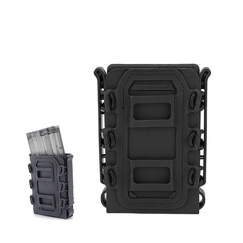 5,56 мм/7,62 мм Молл Чехол тактический CS журнал военная сумка страйкбол стрелковый Пояс Сумки Wargame Пистолетная обойма сумка