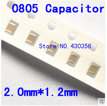 Free shipping 0805 SMD capacitor  10uf  16V  106K  200PCS