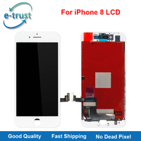 E Trust 2Pcs Lot For IPhone 8 LCD Display Touch Screen Digitizer Assembly Replacement Grade AAA
