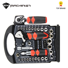 46PCS Universal Screwdriver Socket Ratchet Wrench Set Hardware Tool Set Hand Tool Screwdriver Wrench Set