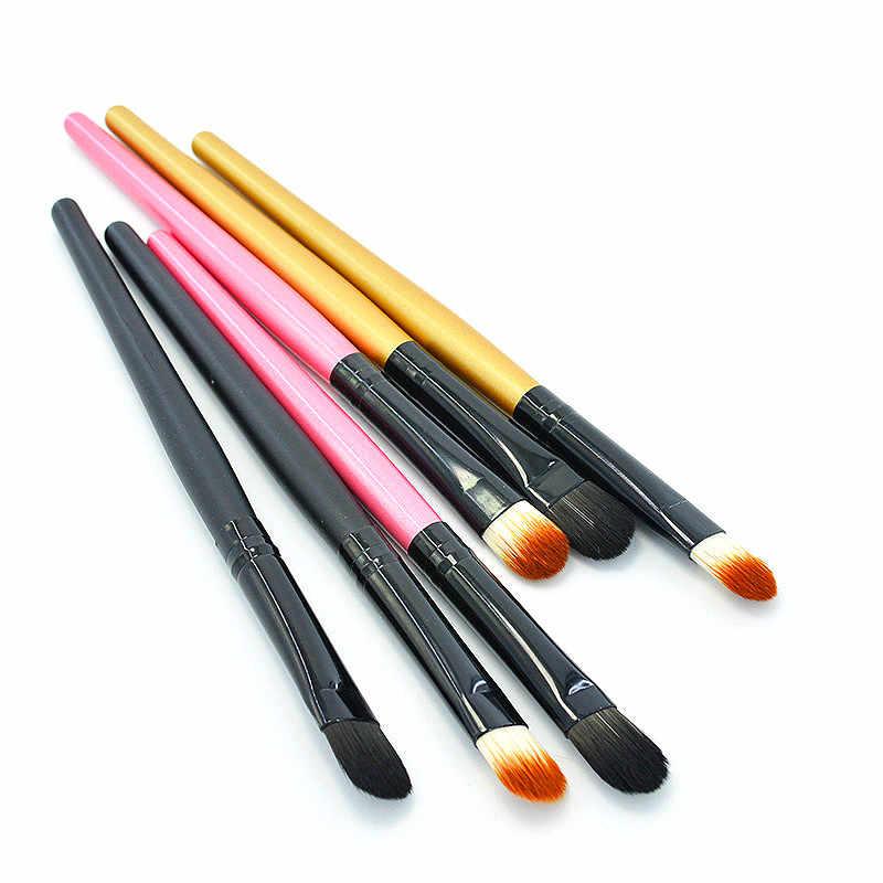 1 piezas colorido pintura pinceles diferentes forma redonda Punta de pelo de Nylon pintura cepillo arte suministros