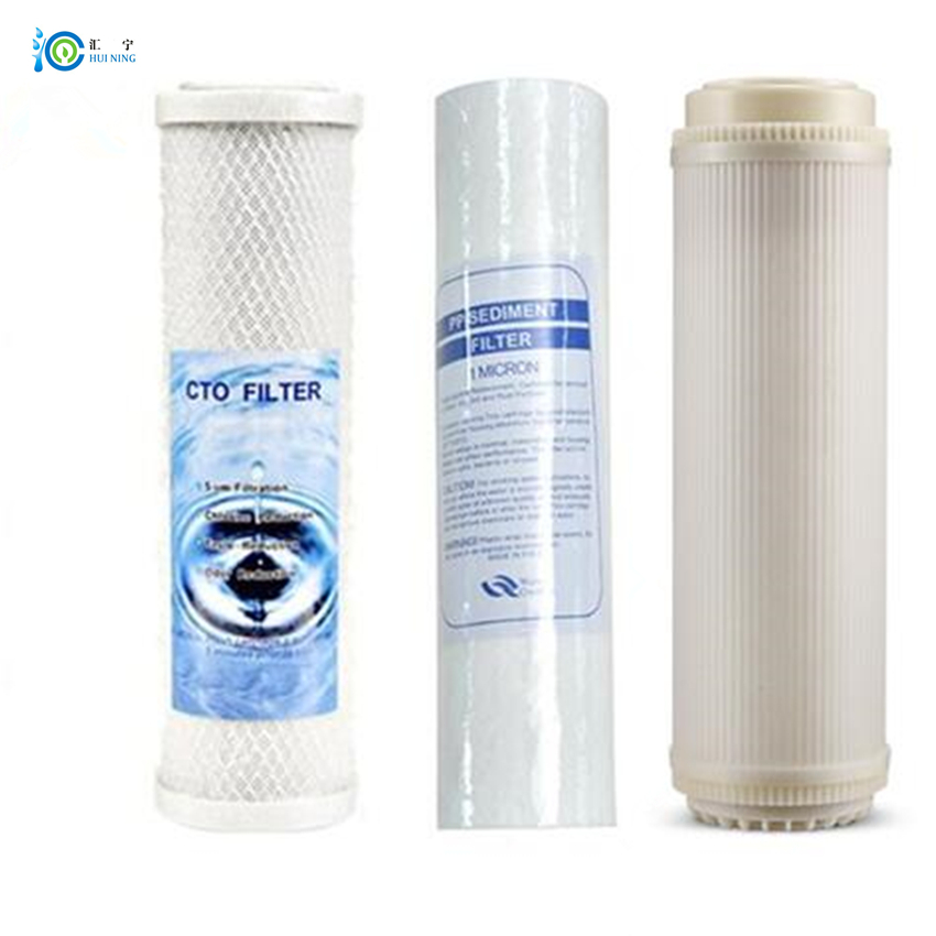 все цены на Activated Carbon filter and PP Cotton filter and ultrafiltration filter water filter for reverse osmosis system