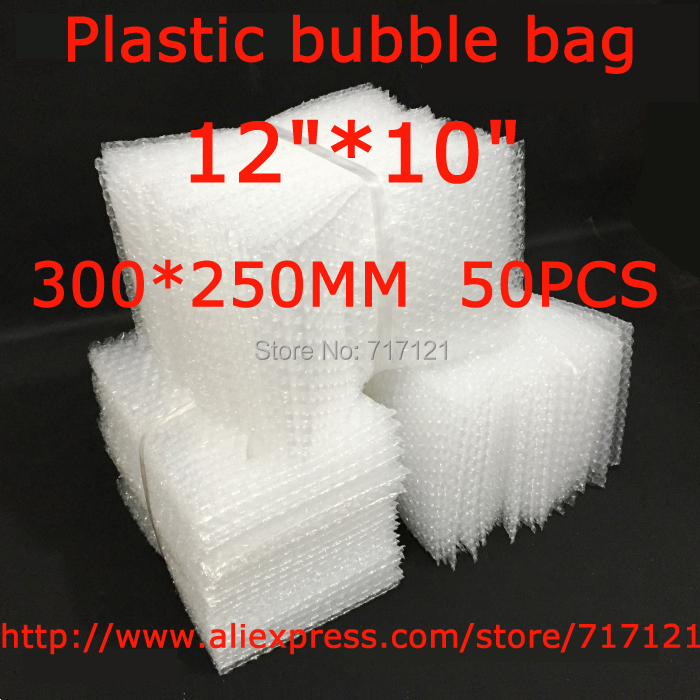 LOW BULK PRICE 50 pcs white Anti Static Bubble Envelopes Wrap Bags 12 x 10_300 x 250mm FREE SHIPPING