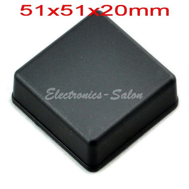 Small Desk-top Plastic Enclosure Box Case,Black, 51x51x20mm,  HIGH QUALITY.