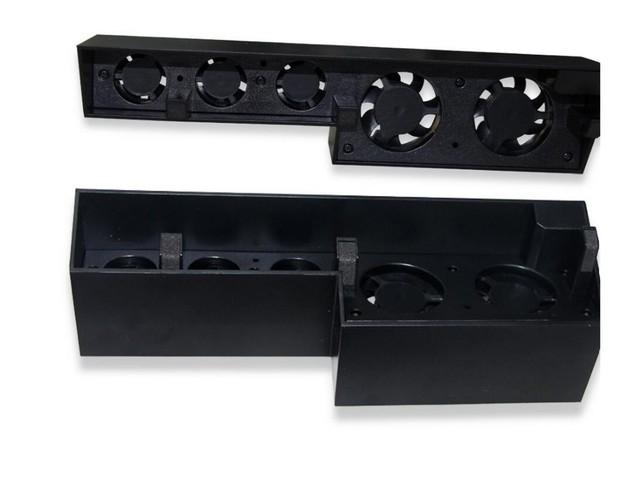 Venta caliente de Doble Estación de Carga Del Muelle Soporte de Base 3 de Enfriamiento del USB ventilador de refrigeración para sony play station 4 ps 4 controlador ps4