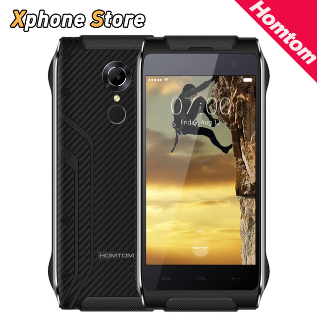 FAST SHIP HOMTOM HT20 Android 6.0 4.7 inch 4G LTE Waterproof Dustproof Shockproof MTK6737 Quad Core 2GB +16GB Mobile Phone