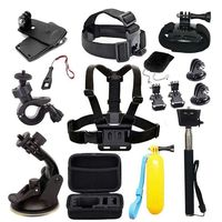 Action Camera Accessories for Gopro Hero 7 AKASO EK7000 Brave Victure Crosstour Apeman VicTsing Action Camera Accessory Bundle