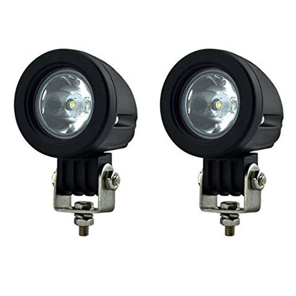 Brand New Car Work Lights Ourbest 2pcs 10W Mini Tail Auto Led Offroad Lights Fog Lamp for Car / Motorcycle / Boat / ATV