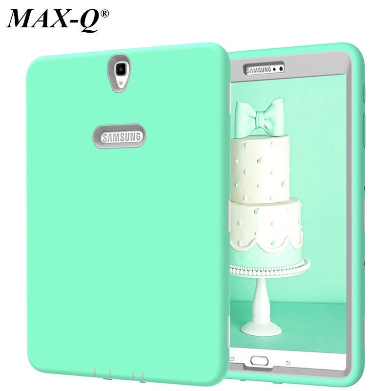 MAX-Q New Cover For Samsung Galaxy Tab S3 9.7inch T820 T825 Case Rugged Heavy Duty Shockproof Silicone + PC Hard Case cover