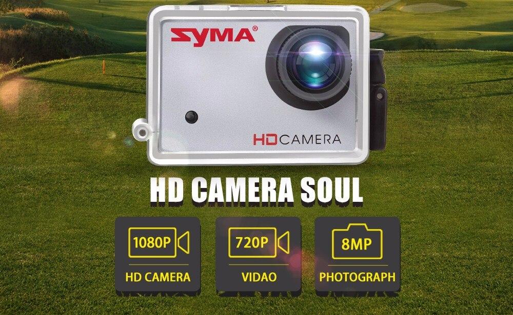 SYMA Professional UAV X8HG X8HW X8HC 2.4G 4CH RC Helicopter Drones 1080P 8MP HD Camera Quadcopter (SYMA X8C/X8W/ X8G Upgrade) 3