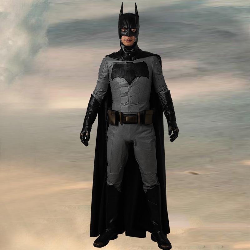 Batman Justice League Cosplay Costume Superhero Halloween Outfit Uniform Suit