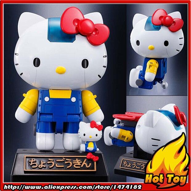 "100% Original BANDAI Tamashii Nations Chogokin <font><b>Action</b></font> <font><b>Figure</b></font> - Hello Kitty (Blue) from ""HELLO KITTY"""