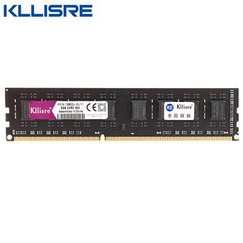 Kllisre DDR3 8GB 4GB 1333Mhz 1600MHz Ram pamięć stacjonarna 240pin 1 5V DIMM Intel RAM AMD tanie i dobre opinie CN (pochodzenie) 1333 mhz Pulpit NON-ECC 9-9-9-24 Trzy Lata Pojedyncze 1 5 V 1600=11-11-11-28 1600=CL11