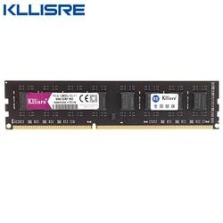 Kllisre Ram DDR3 4GB 8GB 16 GB 2GB 1333 GB 1600MHz escritorio memoria con disipador de calor 240pin 1,5 V nuevo dimm