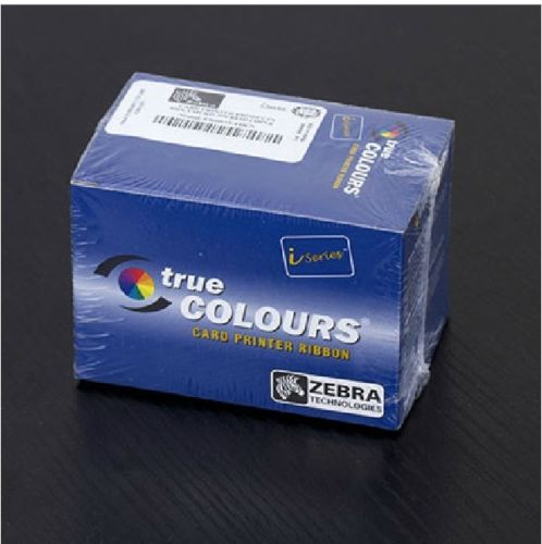Zebra iSeries 5-Panel Color Ribbon YMCKO for Zebra Card Printers 800015-440 zebra 800015 940 pvc card printer color ribbon for p110i p120i card printer 200 prints