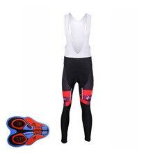Maillot Ropa Ciclismo 2017 Pro Team CUBE Long Sleeve Set Cycling Jersey Bike 9D Bib Pants Men MTB Sportwear China Cheap I16