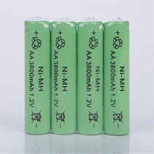 8 pcs/lot New Original 3000mAh 1.2V NiMH Rechargeable Battery Free shipping